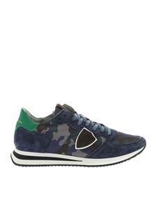 Philippe Model - Sneakers Tropez stampa camouflage
