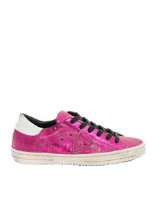 Philippe Model - Classic Met sneakers in fuchsia