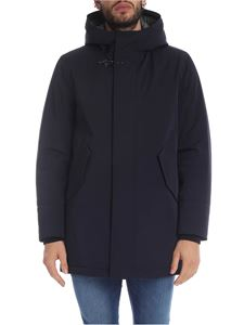 Fay - Blue parka with Fay hook