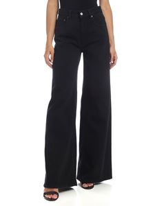 MM6 by Maison Martin Margiela - Palace trousers in black denim