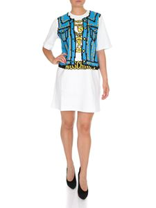 Moschino - Moschino Capsule Collection Pixel dress in white