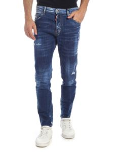 Dsquared2 - Skater jeans in faded blue