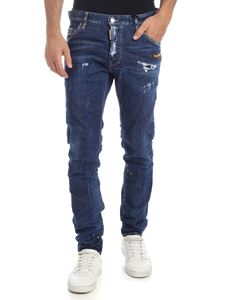 Dsquared2 - Cool Guy blue jeans with canoe patch