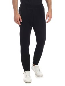 Dsquared2 - Black stretch viscose trousers