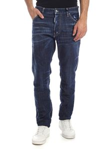 Dsquared2 - Dark-blue Cool Guy washed jeans