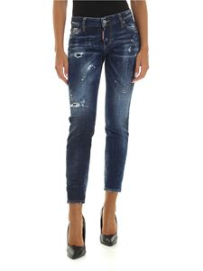 Dsquared2 - Jennifer Cropped jeans in blue