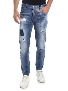 Dsquared2 - Tidy Biker jeans in faded blue