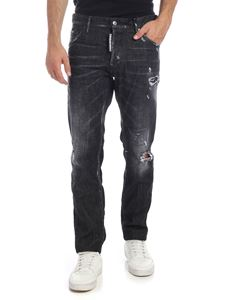 Dsquared2 - Cool Guy jeans in black with destroyed effect