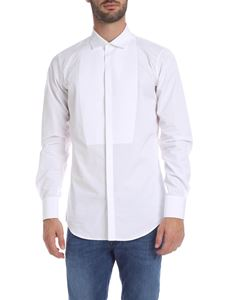 Dsquared2 - White bibed shirt