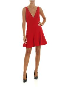 Dsquared2 - Red dress with maxi V-neckline