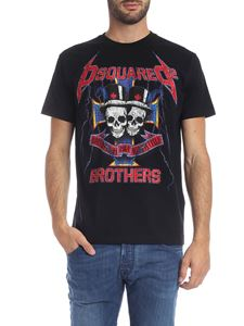 Dsquared2 - Dsquared2 Brothers print t-shirt in black