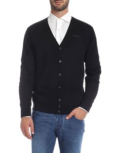 Dsquared2 - Black cardigan with pockets
