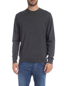 Dsquared2 - Gray pullover with rubberized logo