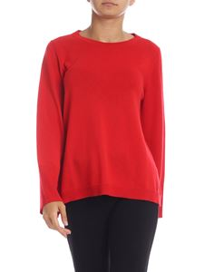 Kangra Cashmere - Red flared pullover