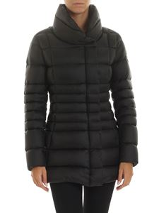 Colmar Originals - Place long crop down jacket in black