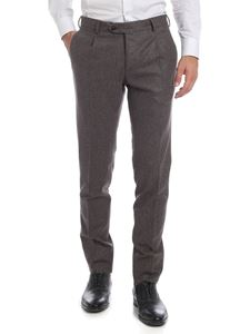 L.B.M. 1911 - Trousers with darts in taupe color