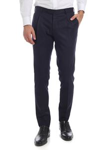 L.B.M. 1911 - Pleated trousers in blue