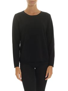 Kangra Cashmere - Black pullover with sequins