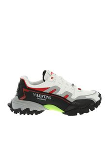 Valentino - Climbers sneakers in white