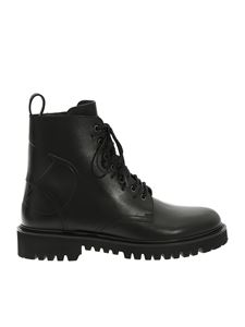 Valentino - Combact boots in black