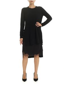 N°21 - Black knitted dress with petticoat