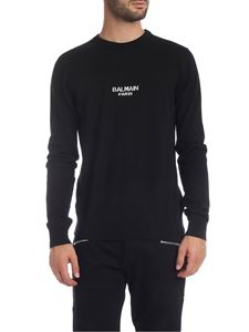 Balmain - Black virgin wool pullover