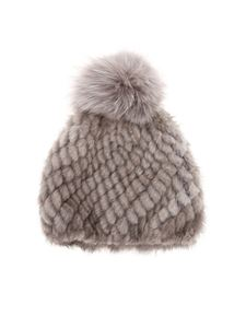 Max Mara - Delia beanie in grey
