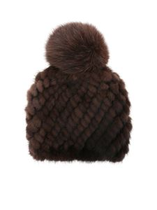 Max Mara - Delia beanie in brown