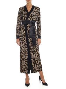 be Blumarine - Animal printed long cardigan