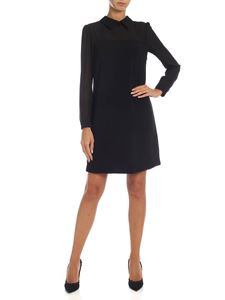 be Blumarine - Black dress with collar
