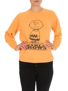 Marc Jacobs  - Charlie Brown sweatshirt in orange