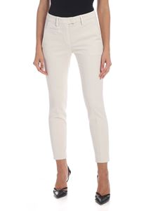 Dondup - Perfect trousers in gray ice color