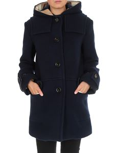 Chloé - Cappotto Trench Style Evening Blue