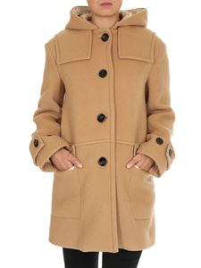 Chloé - Cappotto Trench Style Coffee Brown