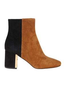 Tory Burch - Gigi ankle boots in black and brown