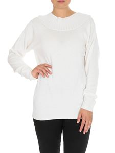 Chloé - Pullover bianco in lana cashmere