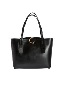 Chloé - Borsa Shopping Media Chloé C nera