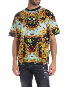 Versace - Versace Jeans Couture T-shirt Ladybug Baroque