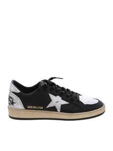 Golden Goose Deluxe Brand - Sneakers Ball Star nere e argentate