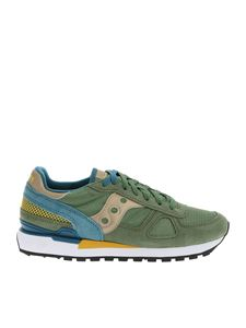 Saucony - Sneakers Shadow Original verdi
