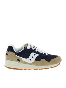 Saucony - Sneakers Shadow 5000 blu e beige
