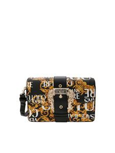 Versace - Versace Jeans Couture printed bag in black