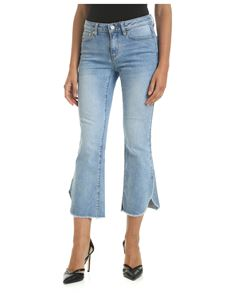 Michael Kors - 5-pocket jeans with faded effect