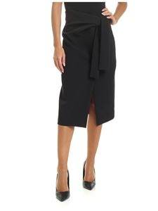 Parosh - Pencil skirt in black