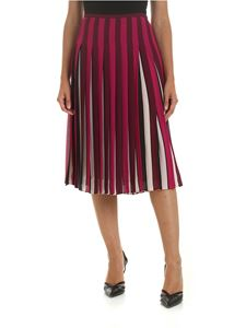 Michael Kors - Pleated skirt in shades of purple