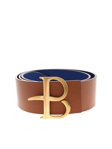 Ballantyne - Brown and blue reversible belt