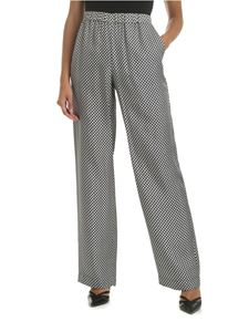Michael Kors - Black and white trousers with Kors print