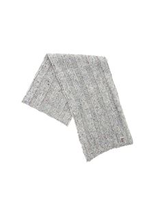 Colmar - Roots speckle scarf in dark gray