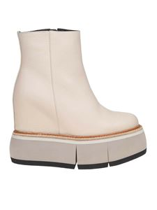 Paloma Barceló - Haley ankle boots in beige leather