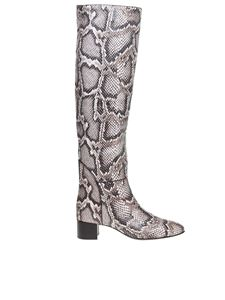 Giuseppe Zanotti - Doreen boots in python printed leather